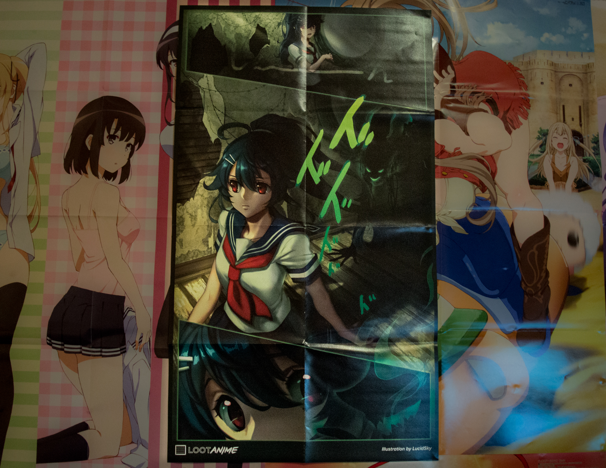 Loot Crate Anime February Haunted Crate Spotlight  0012