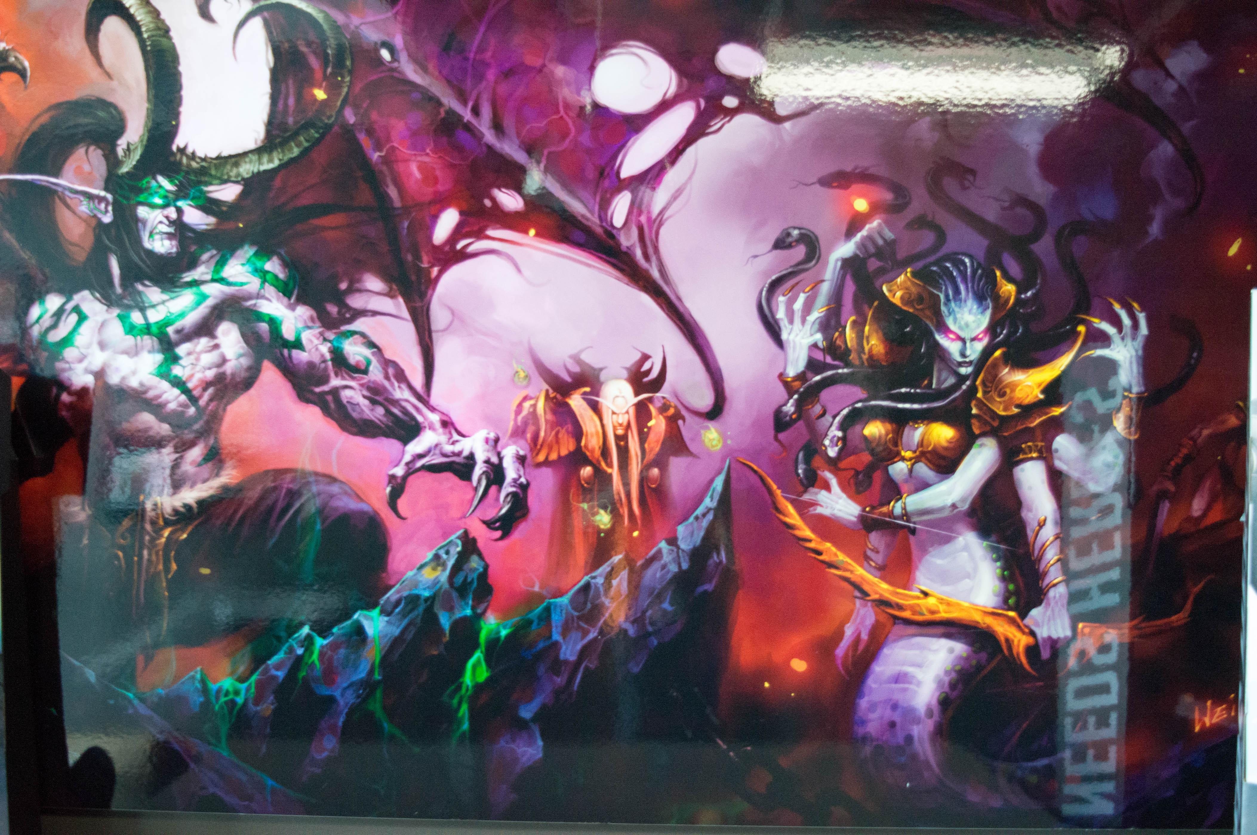 Swaps4's Bizarre Adventure Tour of Blizzard Entertainment 0057