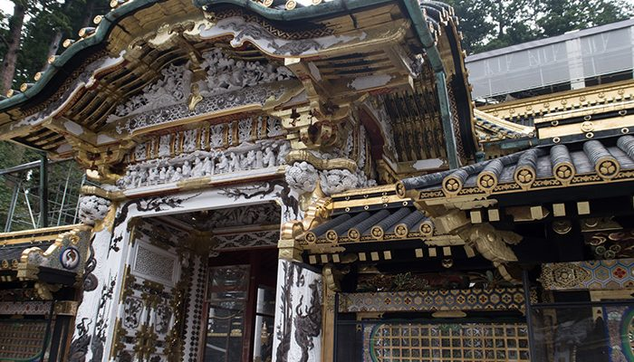 Nikko Toshogu Shrine in Japan